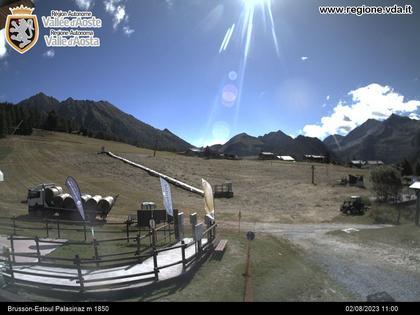 Brusson › Norden: Estoul - Valle d'Aosta, Italia
