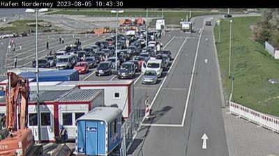 Vignette de Norderney webcam à 7:17, févr. 25