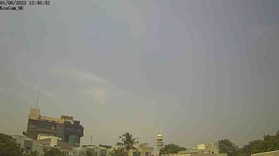 Daylight webcam view from Chennai › East