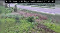 Severn: Highway  near Simcoe Rd - Overdag