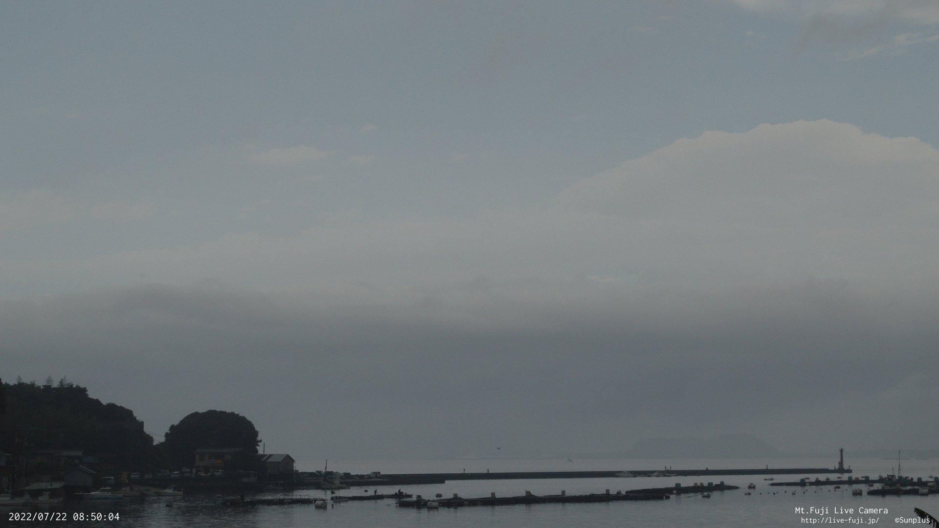 Webcam Shishihama: Mt.Fuji from Numazu