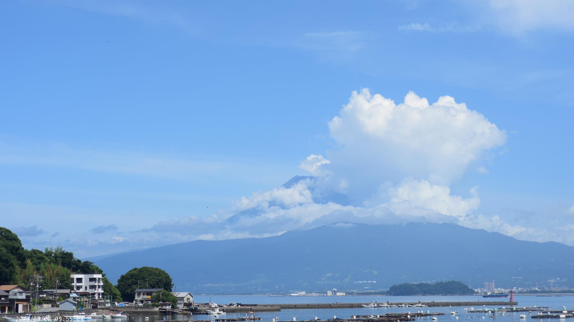 Webkamera Shishihama: Mt.Fuji from Numazu