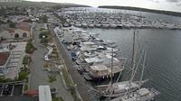 Last daylight view from Punat: Marina