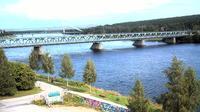 Rovaniemi: J�tk�nkynttil� bridge, Lappi - El día
