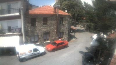 Vista de cámara web de luz diurna desde Klisoura: Kastorias 1180m