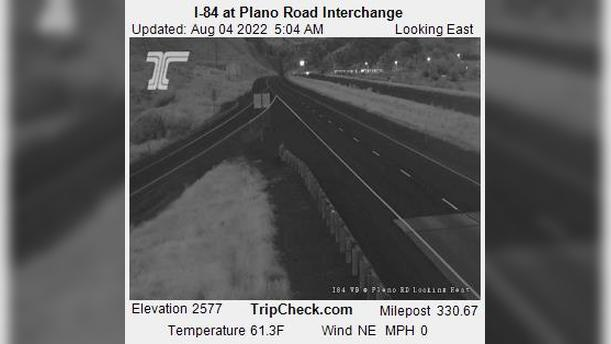 Webcam Durkee: I-84 at Plano Road Interchange