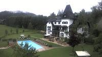 Ultima vista de la luz del día desde Gosau: Landhaus Hotel Koller