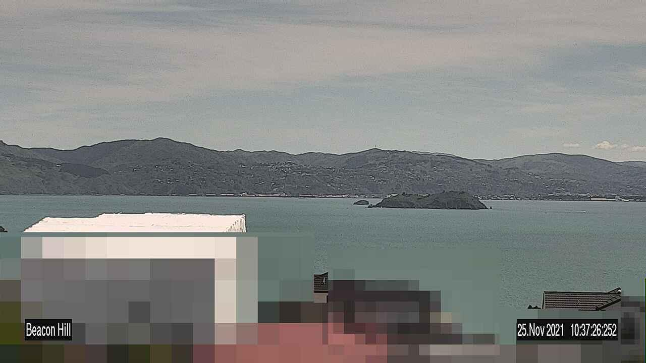 Webcam Hataitai: Beacon Hill − Breaker Bay