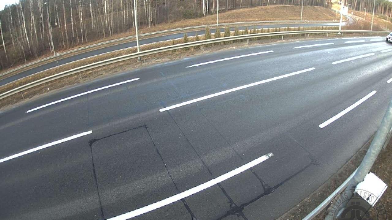 Webkamera Ezerzviedri: Lilaste, A1 autoceļš 23km