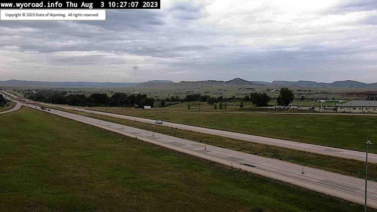 Webcam Beulah: I-90 − WY (MM 205.9)