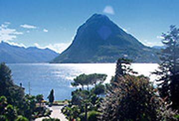 Lugano › Süd: Lake Lugano - Monte San Salvatore