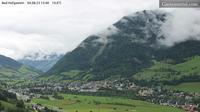 Ultima vista de la luz del día desde Bad Hofgastein: Panorama