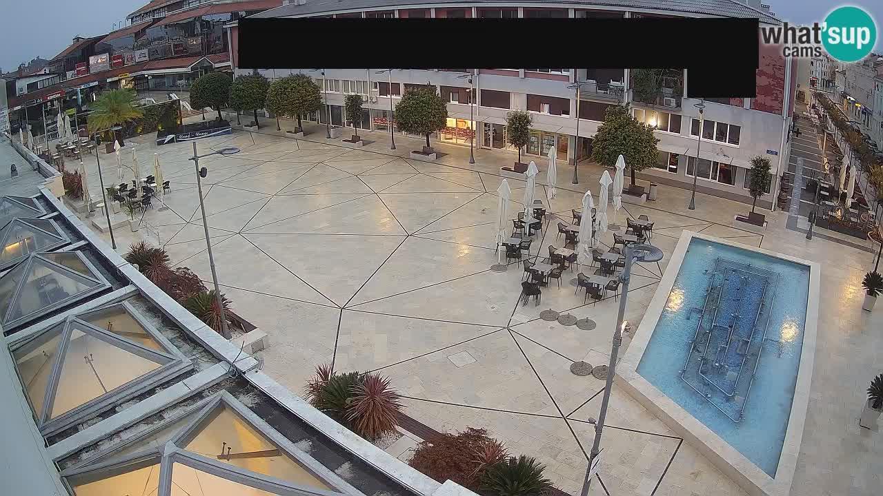 Webcam Umag: Trgovacka ulica