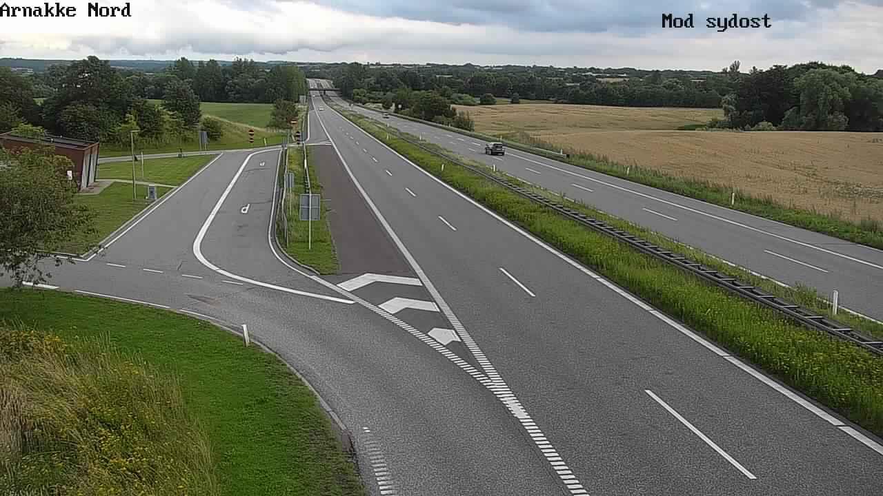 Webkamera Vipperød: Holbækmotorvejen