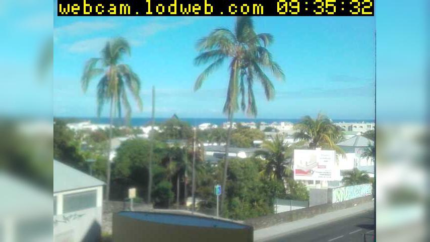 Webcam Saint-Pierre › South: Rue Marius et Ary Leblond