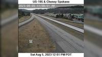 Comstock: US  at MP .: Cheney Spokane Rd - El día
