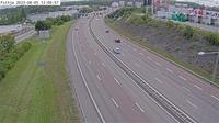 Tullinge: Fittja (Kameran �r placerad p� E/E S�dert�ljev�gen mellan trafikplats Fittja och trafikplats V�rby och �r riktad mot Stockholm) - Jour