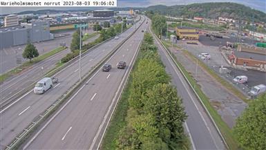 Webcam Fältkanonen samfällighet: Marieholmsmotet norrut