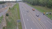Viksater: Tuv�ngen (Kameran �r placerad p� E/E S�dert�ljev�gen strax norr om trafikplats Moraberg och �r riktad mot Stockholm) - Overdag