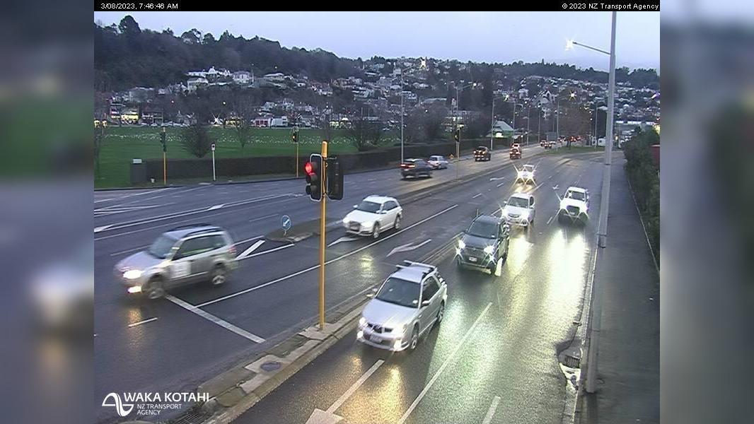 Webkamera Dunedin › West: SH1 Caversham Mwy
