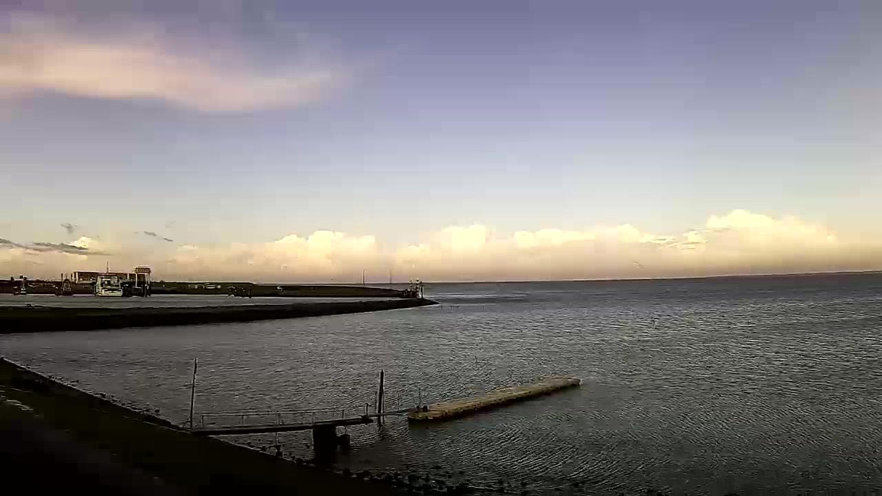 Webcam Lauwersoog: Haven − Wadden Sea