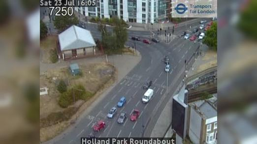 Webcam Acton: Holland Park Roundabout