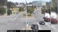Saanich > North: , Hwy  at Helmcken Overpass looking north - Overdag