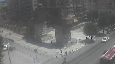 Vue webcam de jour à partir de Thessaloniki: Κάμερα Θεσσαλονίκης