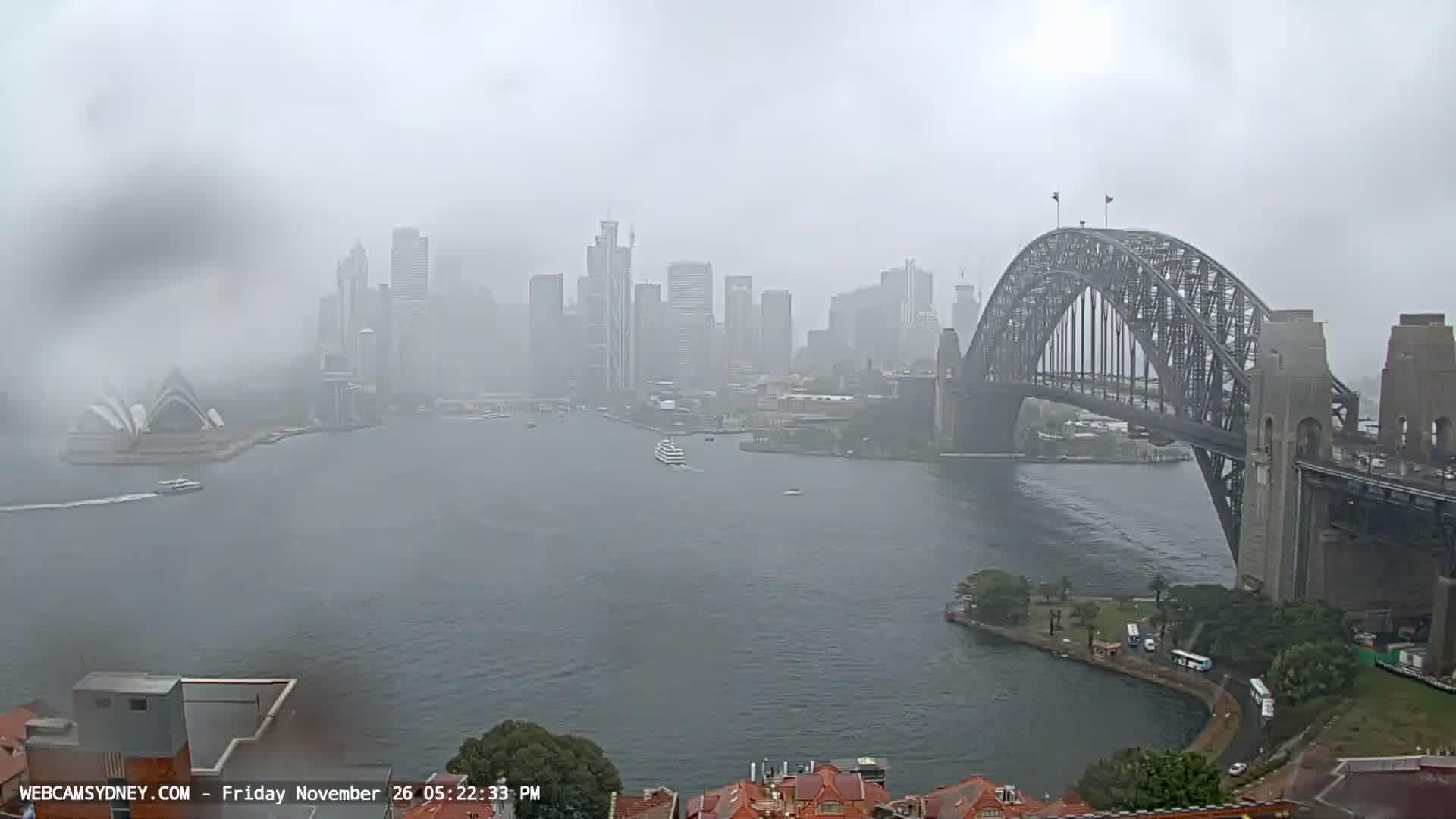Webcam Sydney CBD: Sydney Harbour