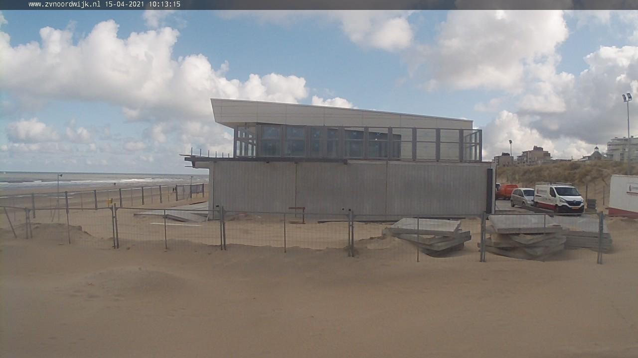 Webkamera Noordwijk › North-East: Noordwijk Beach