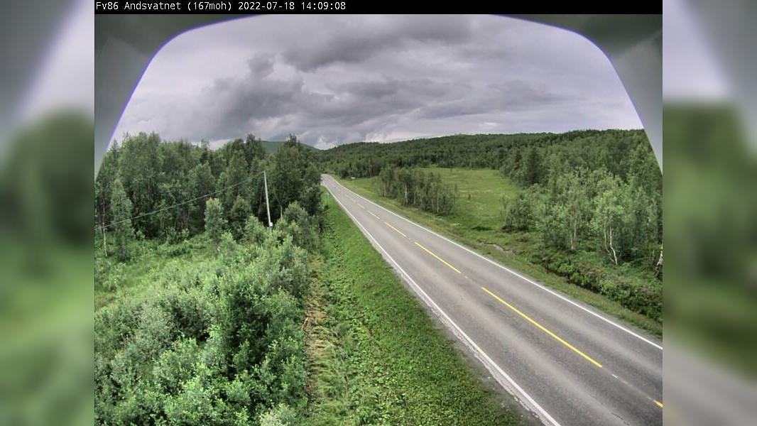 Webcam Andsvatnet: F86 − 167 moh