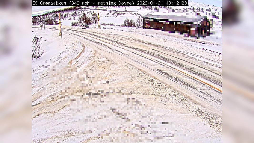 Webcam Kongsvoll: E6 Grønbakken (Ved Hjerkinn)