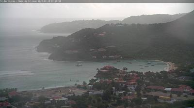 Current or last view from Saint Jean: La Baie de − Saint Barth