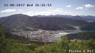 Webcam Picton › West: Picton Harbour