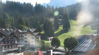 Pinzolo: Piazza Brenta Alta - Visuale dal Hotel Garn� la Montanara Madonna di Campiglio - Current