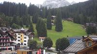 Pinzolo: Piazza Brenta Alta - Visuale dal Hotel Garnì la Montanara Madonna di Campiglio - Overdag
