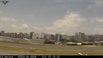 Daylight webcam view from La Aurora: Avenida Las Americas
