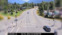 Pemberton > East: , Hwy  at Portage Rd in - looking east - El día