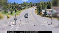 Pemberton › East: , Hwy  at Portage Rd in - looking east - Day time