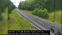 Schroon Lake › North: I- Northbound at Charley Hill Rd Schroon (South of Exit) - Day time