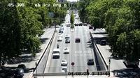 Madrid: Plaza de la República Argentina - Overdag