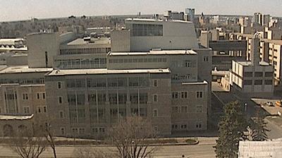 Vista de cámara web de luz diurna desde Saskatoon: Health Sciences Building