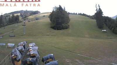 Daylight webcam view from District of Žilina: Vratna Paseky