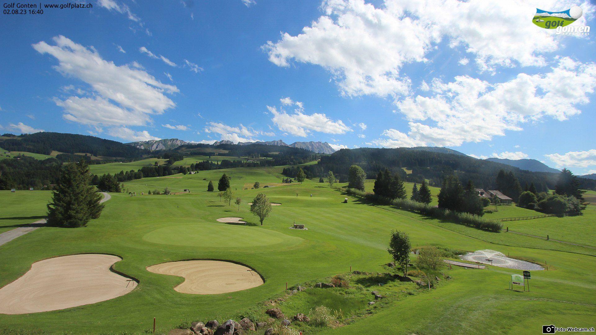 Gonten: Golfplatz