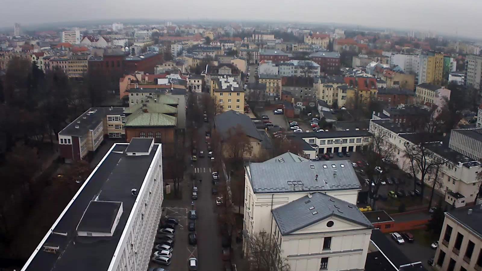 Webcam Bydgoszcz: panorama miasta widok północno-wschodni