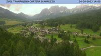 Acquabona: Cortina dal Trampolino Olimpico, localit� Zuel - Actual