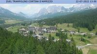 Acquabona: Cortina dal Trampolino Olimpico, localit� Zuel - Dia