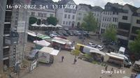 Wetzlar: Domplatz - Overdag