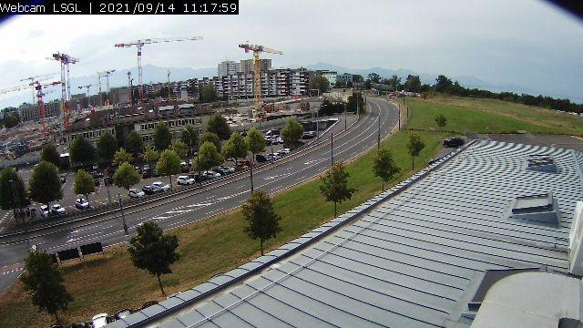 Lausanne: Airport LSGL Blécherette - South View