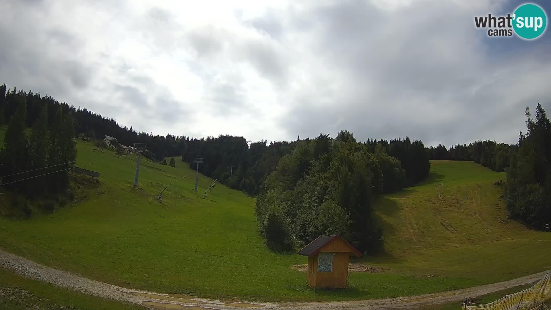 Webcam Cerkno: Ski − Brdo
